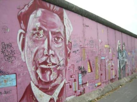 Stück der Mauer - East Side Gallery - Berliner Mauer
