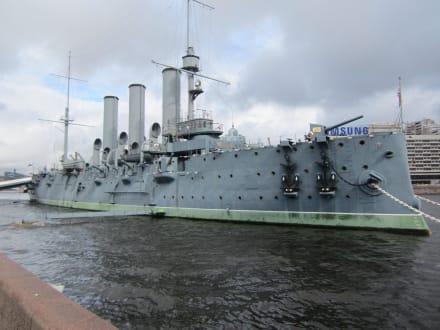 Die Aurora in voller Pracht - Panzerkreuzer Aurora (geschlossen)