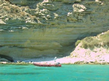 Küste bei Cagliari - Teufelssattel