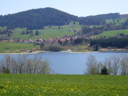 Blick auf Petersthal - Rottachsee