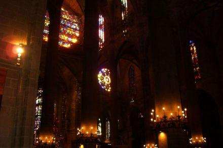 Kathedrale La Seu von innen - Kathedrale La Seu
