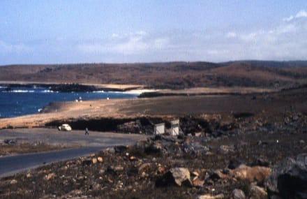 Auf dem Weg zur Naturbrücke - Inselrundfahrt