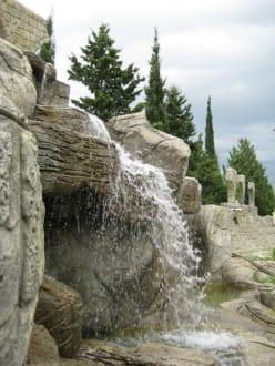 Wasserfall - Brunnen in Belek