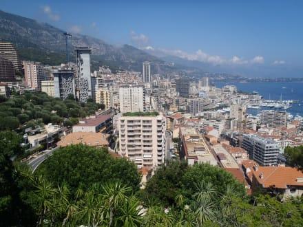 Aussicht auf Monaco - Jardin Exotique