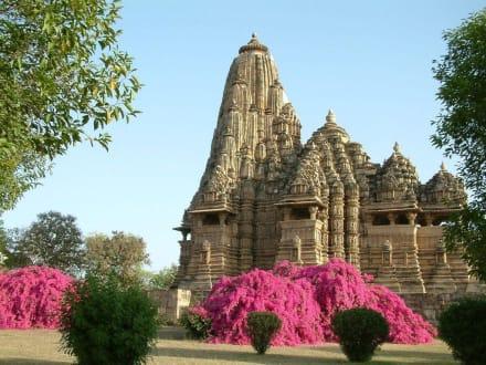 Pornotempel in Khajuraho - Tempelbezirk
