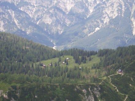 Panoramablick Salzburger Land - Dachstein West