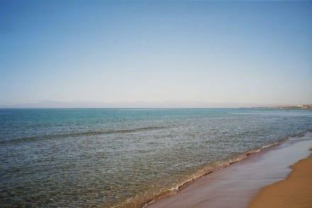 Blick vom Strand - Strand Side