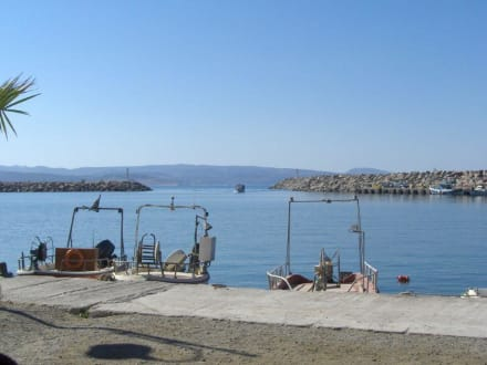 Hafen von Kokkinos Pirgos - Hafen Kokkinos Pirgos