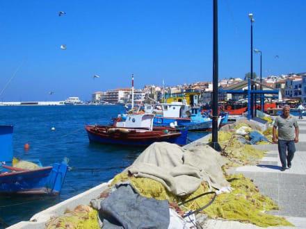 Hafen Samos-Stadt - Hafen Samos Stadt