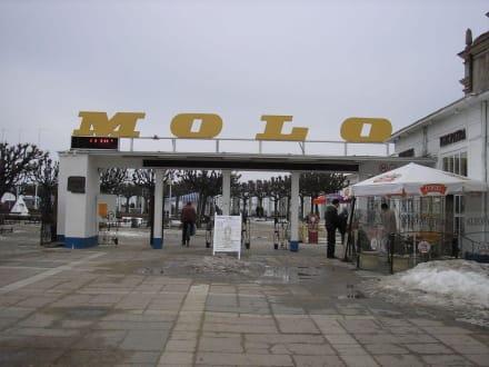 Eingang zur Molo Zopot - Strand Zoppot/Sopot