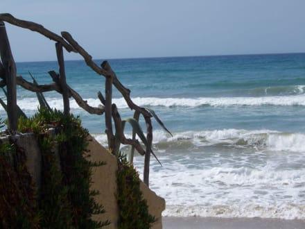 Der Strand am Tag - Strand Acharavi