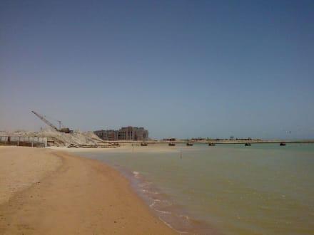 Bau des Neuen Hafens - Yachthafen New Marina El Gouna