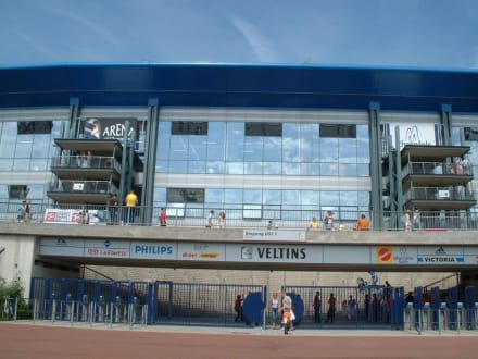 Arena AufSchalke (jetzt Veltins-Arena) - Schalke 04 Veltins-Arena