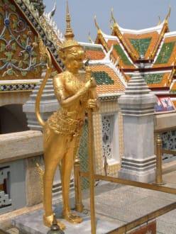 Detail aus dem Wat Phra Keo - Wat Phra Keo und Königspalast / Grand Palace