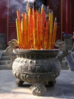 Räucherstäbchen - Shaolin Kloster