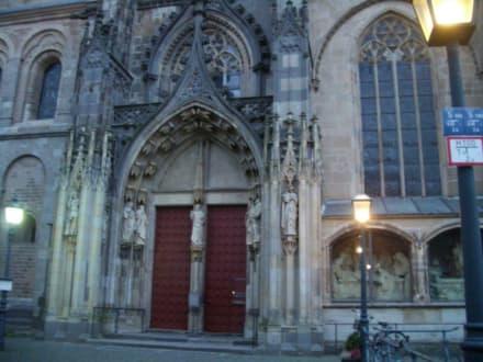 Eingangsportal - Xantener Dom