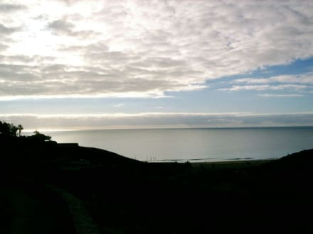 tolles Naturschauspiel der Wolken bei Esquinzo - Strand Playa de Esquinzo / Playa de Butihondo