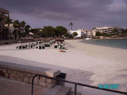 Blick von der Promenade - Platja des Port