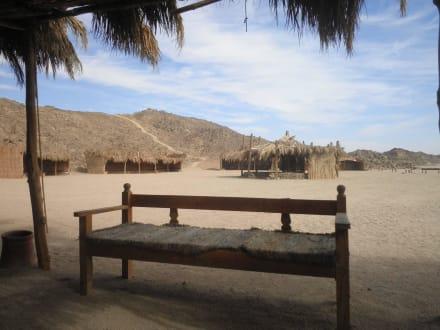 Beduinendorf bei einer Tasse Tee - Quad Tour Safaga