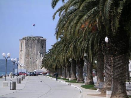 Turm der Festung Kamerlengo in Trogir - Festung Kamerlengo