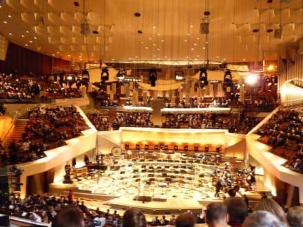 Kurz vor dem Konzert - Berliner Philharmonie