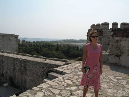 Yedikule-Kastell - Theodosianische Mauer