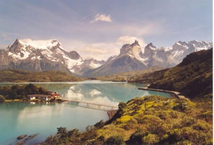 Fahrt in den Torres del Paine Nationalpark - Seno Ultima Esperanza