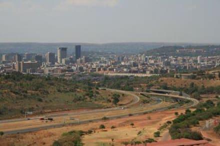 Blick vom Voortrekker Monument auf Pretoria - Voortrekker Monument
