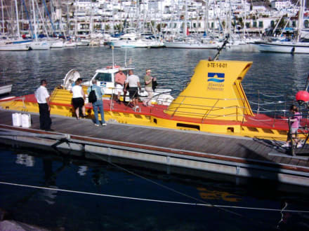 Touristenunterseeboot - U-Boot Tour Yellow Submarine Puerto de Mogán