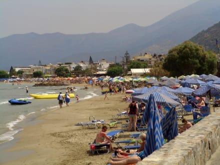 Strand von Stalida - Strand Stalis