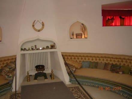Gala's Zimmer - Haus von Dali in Port Lligat