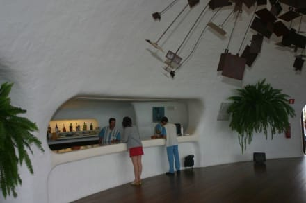 Blick auf die Bar - Mirador del Río