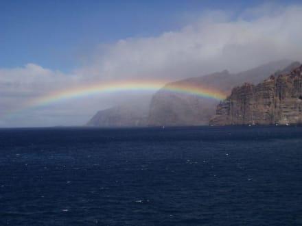 Regenbogen  - Steilküste Los Gigantes