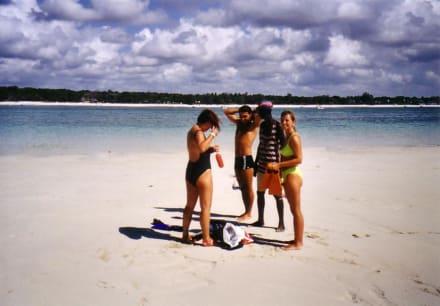 Leute auf dem Riff - Tauchen & Schnorcheln Diani Beach