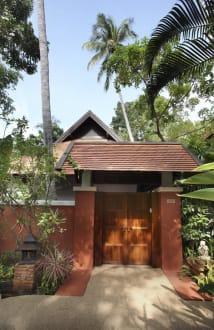 Pool Villa Entrance -