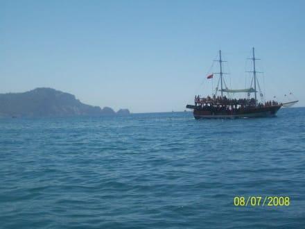 Ausflug mit dem Boot - Party-Boot Incekum