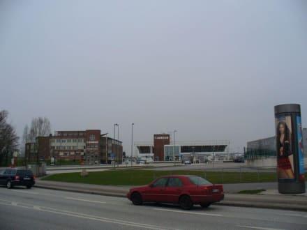 Eingang Osttor - Airbus-Werk