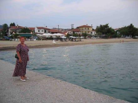 Zentrum vom Nikiti am Strand - Strand Nikiti/Elia