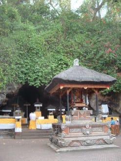 Goa Lawah Tempel - Goa Lawah / Fledermaustempel