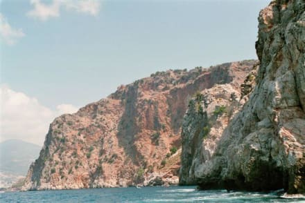 Blick auf Festung - Bootstour Alanya