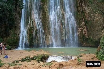Die Wasserfälle von el Lemmon - Wasserfall Saltos de Limon