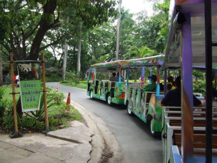Rundfahrt mit Zoo-Eisenbahn - Dusit-Zoo