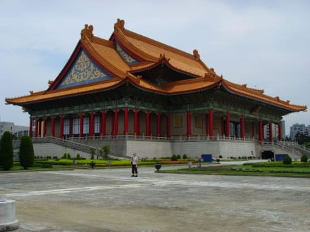 Die Nationale Konzerthalle im CKS-Park - Chiang Kai Shek Memorial Hall