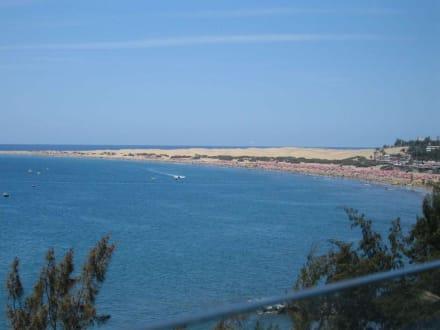 Blick nach Playa del Ingles - Strand Playa del Ingles