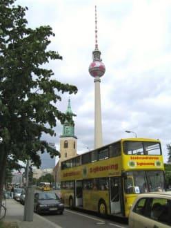 Der Sightseeing-Bus & Fernsehnturm - Berliner Fernsehturm