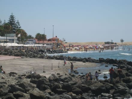 Promenade Maspalomas / Strand - Shoppingcenter Boulevard El Faro