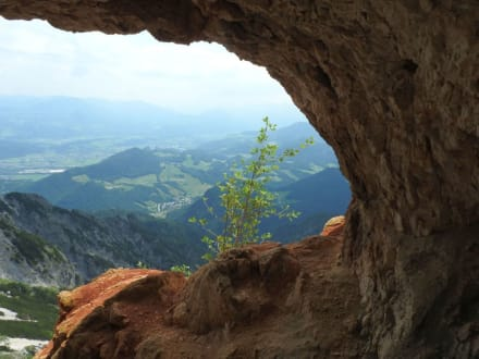 Auf dem Weg zur Lenz-Hütte - Toni Lenz Hütte