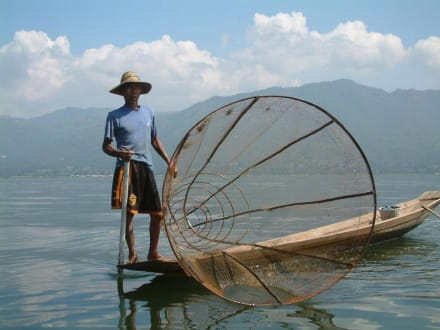 Fischer am Inle-See - Inle See