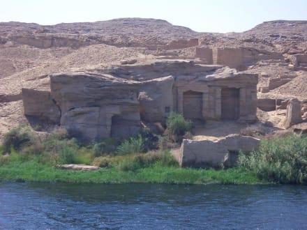 Tempel Nilgott Hapi - Nil