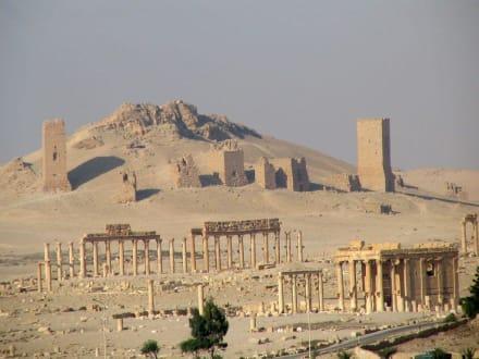 Begräbnisstätten - Ruine Palmyra